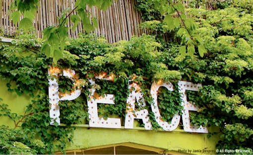 PEACE: Sign in Fremont, Seattle, WA