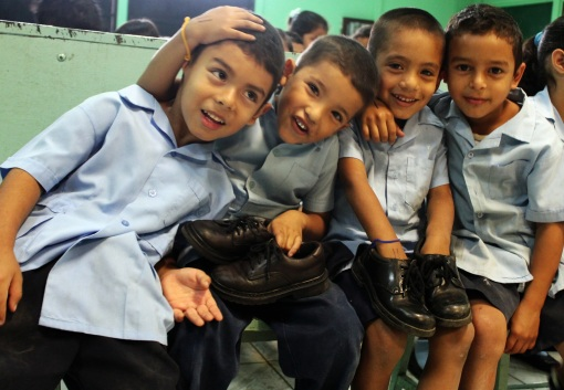 Kindergarten Boys in La Carpio